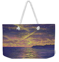 Point Loma Sunset 01 Weekender Tote Bag