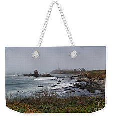Weekender Tote Bag featuring the photograph Point Montara Lighthouse by David Bearden