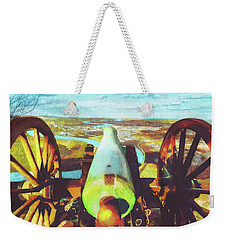 Point Park Cannon Weekender Tote Bag by Steven Llorca