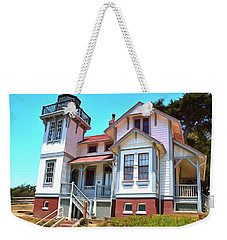 Weekender Tote Bag featuring the photograph Point San Luis Lighthouse by Floyd Snyder