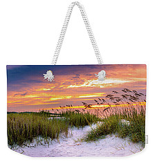 Point Sunrise Weekender Tote Bag