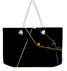 Points Lines And Planes 8 Weekender Tote Bag by James Aiken