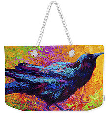 Poised - Crow Weekender Tote Bag