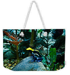 Poison Dart Frog Poised For Leap Weekender Tote Bag