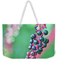 Poke Berries Weekender Tote Bag
