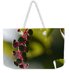 Poke Sallet Anyone? Weekender Tote Bag by Jane Ford