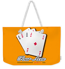 Poker Of Aces - Four Aces Weekender Tote Bag