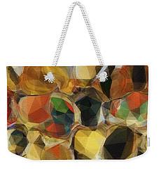 Crazy Quilt Weekender Tote Bag