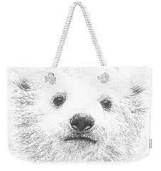 Polar Bear Cub Weekender Tote Bag
