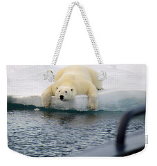 Polar Bear Says 'huh' Weekender Tote Bag