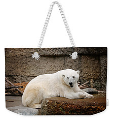 Polar Bear Smile Weekender Tote Bag