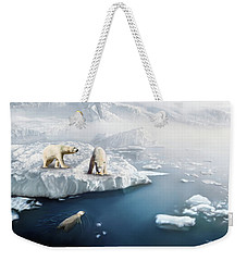 Polar Bears Weekender Tote Bag