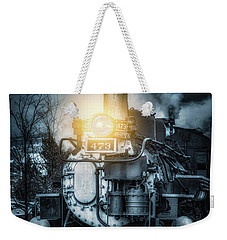 Weekender Tote Bag featuring the photograph Polar Express by Darren White