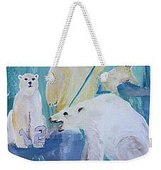 Polar Party Weekender Tote Bag