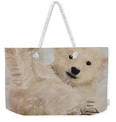 Polar Slide Weekender Tote Bag by Annie Poitras
