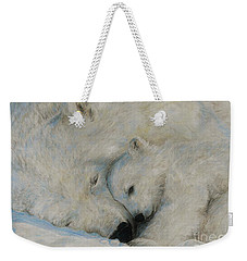 Polar Snuggle Weekender Tote Bag