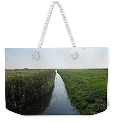 Polder Near Camperduin Weekender Tote Bag