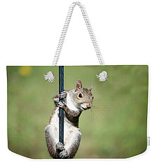 Weekender Tote Bag featuring the photograph Pole Dancer 283 by Ericamaxine Price