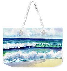 Polhale Waves 3 Weekender Tote Bag by Marionette Taboniar