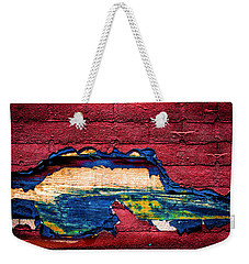 Police Car Abstract Weekender Tote Bag