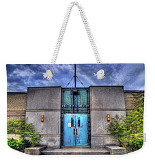 Police Station Weekender Tote Bag by Tammy Wetzel
