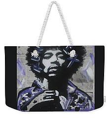 Political Jimi Weekender Tote Bag