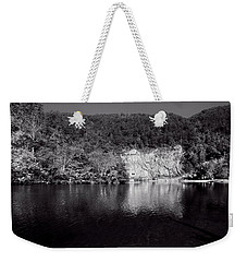 Polk County Reflection In Black And White Weekender Tote Bag