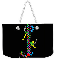Polka Dot Dragon Weekender Tote Bag