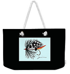 Polka Dot Pike Weekender Tote Bag