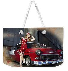 Bel-air Polka Dots Weekender Tote Bag