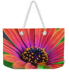 Weekender Tote Bag featuring the photograph Pollen by Keith Hawley