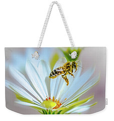 Pollinator Weekender Tote Bag by Mark Dunton