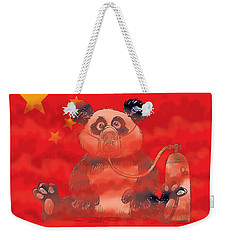 Pollution In China Weekender Tote Bag