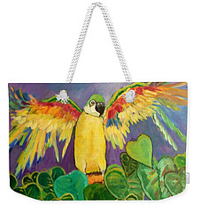 Polly Wants More Than A Cracker Weekender Tote Bag
