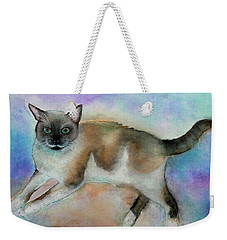 Pollyanna Weekender Tote Bag by Janet Immordino