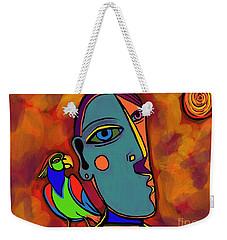 Polly's Cracker Weekender Tote Bag