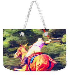 Polo Game 2 Weekender Tote Bag
