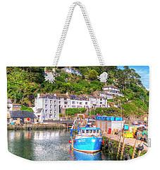 Polperro - Cornwall Weekender Tote Bag by Hazy Apple