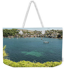 Polruan From Fowey, Cornwall Weekender Tote Bag
