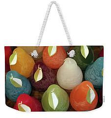 Polychromatic Pears Weekender Tote Bag