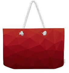 Polygon Weekender Tote Bag