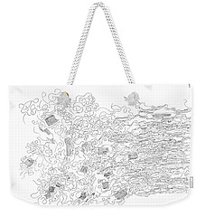 Polymer Fiber Spinning Weekender Tote Bag