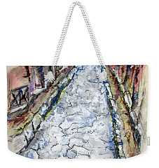 Pompeii Road Weekender Tote Bag by Clyde J Kell