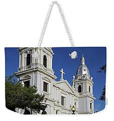 Ponce Cathedral Weekender Tote Bag