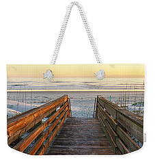 Ponce De Leon Inlet Beach Path Weekender Tote Bag