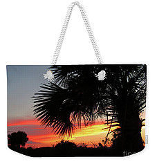 Ponce Inlet Florida Sunset Weekender Tote Bag