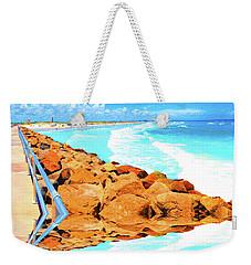 Ponce Inlet Jetty  Weekender Tote Bag