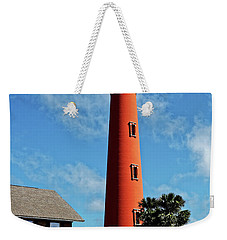 Ponce Inlet Light Weekender Tote Bag