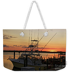 Ponce Inlet Sunset Weekender Tote Bag by Paul Mashburn
