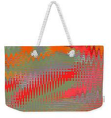 Pond Abstract - Summer Colors Weekender Tote Bag by Ben and Raisa Gertsberg